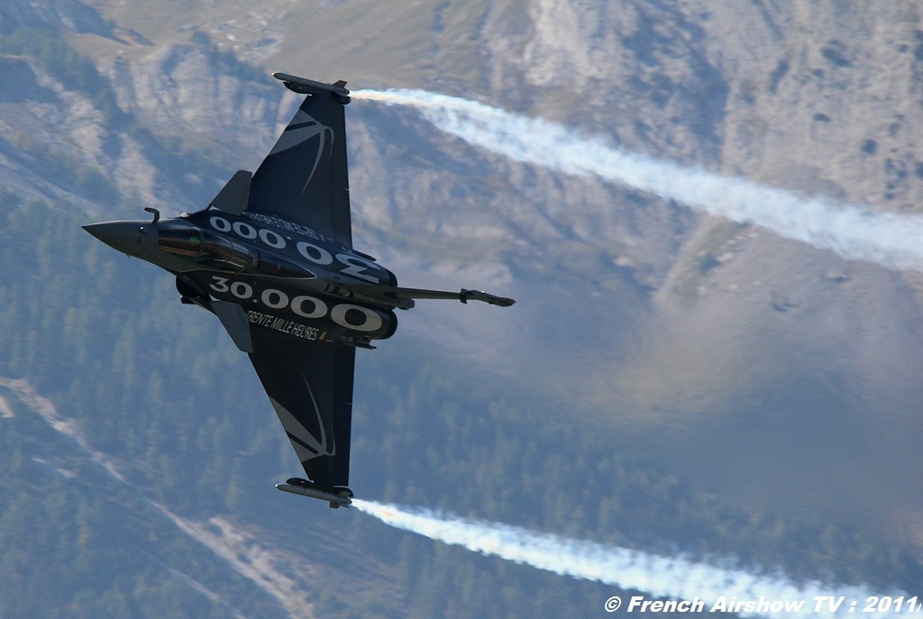 Rafale Solo Display 2011,Sion Airshow 2011