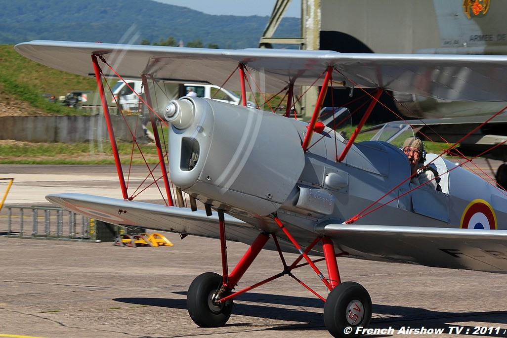 Stampe SV4 ,Meeting Aerien BA-116 Luxeuil 2011