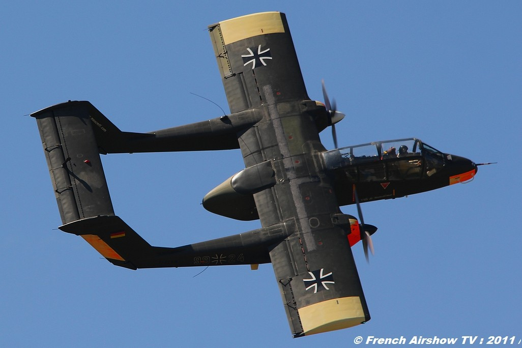OV-10 Bronco ,Meeting Aerien BA-116 Luxeuil 2011