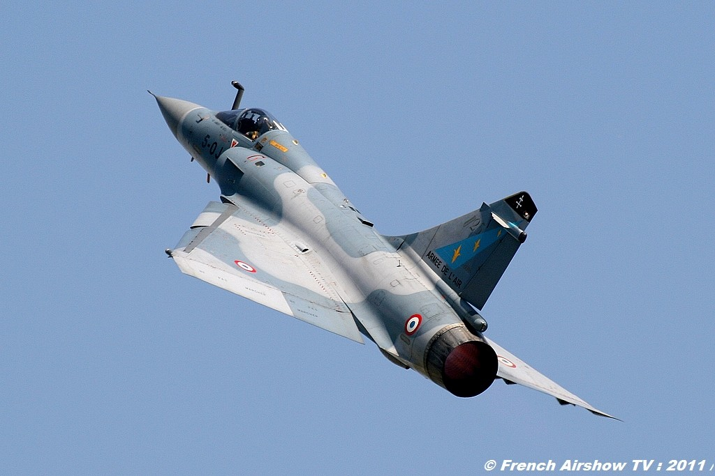 Mirage 2000 Solo Display, Mirage 2000C dassault, display