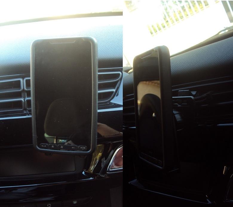 mobilefun fr test du support voiture universel bracketron mobiledock grille a ration. Black Bedroom Furniture Sets. Home Design Ideas
