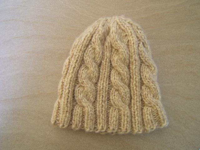 tricoter un bonnet aiguille 6