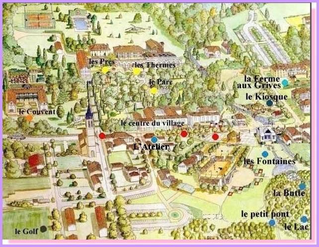 104 eugenie les bains la maison rose immobilier eugenie - Location cure eugenie les bains ...
