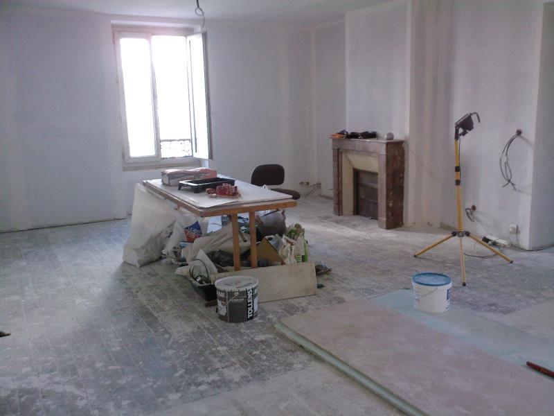 Conseil d co peinture salon cuisine ouverte page 1 for Conseil cuisine ouverte