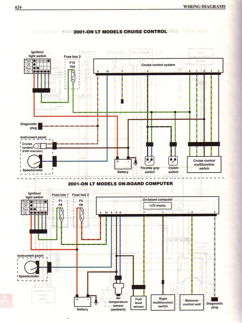Bmw K 100 Wiring Diagram Custom Project 1985 K100 Schema Electrique K1200lt