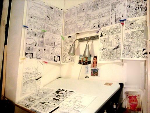 Lampe de bureau pour dessiner acheter dessin animé tactile