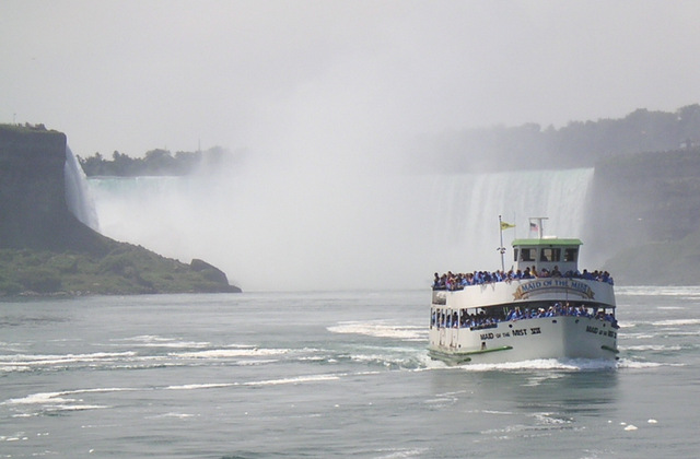 maid of the mist chutes du niagara