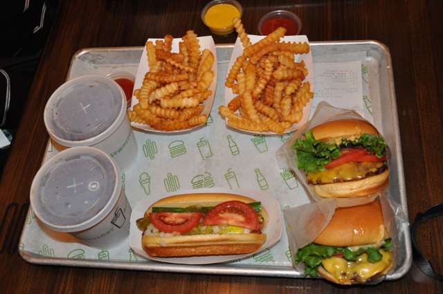 shake shack miami shake burger french fries