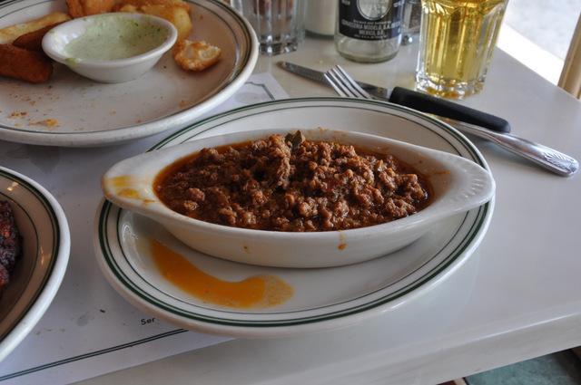 Viande de boeuf  hachée restaurant versailles little havana miami cuba cubain