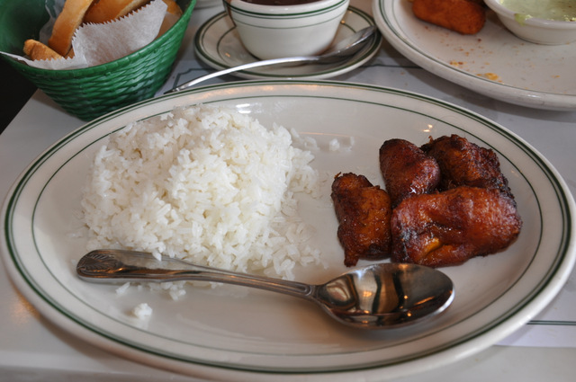 riz bananes plantain restaurant versailles little havana miami cuba cubain