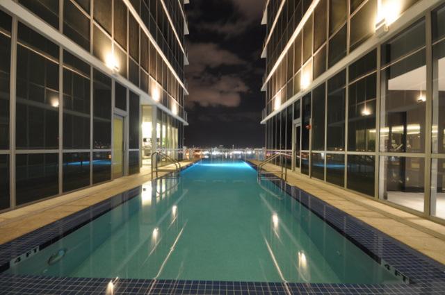 casa moderna hotel & spa piscine terrasse de nuit