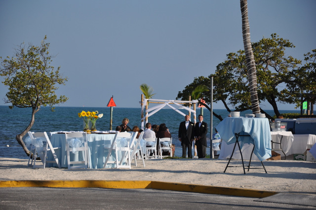 plage ocean pointe mariage wedding key largo