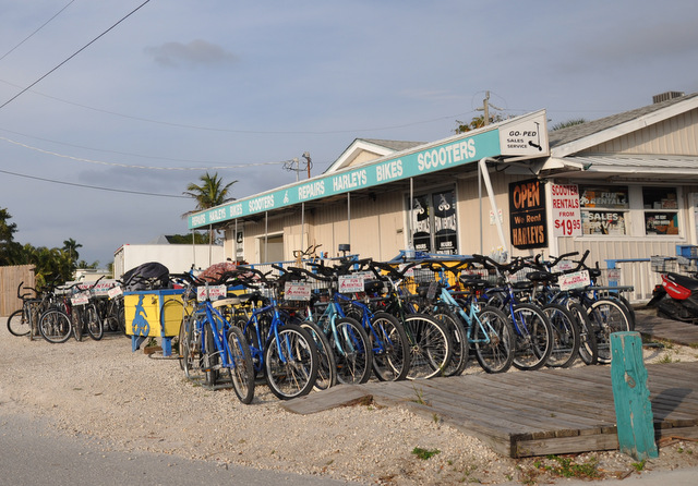 Key West à vélo
