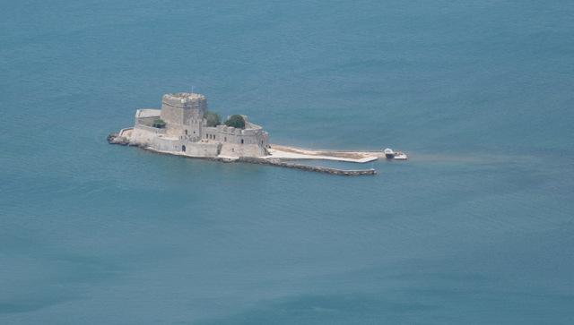 nauplie îlot Bourdzi