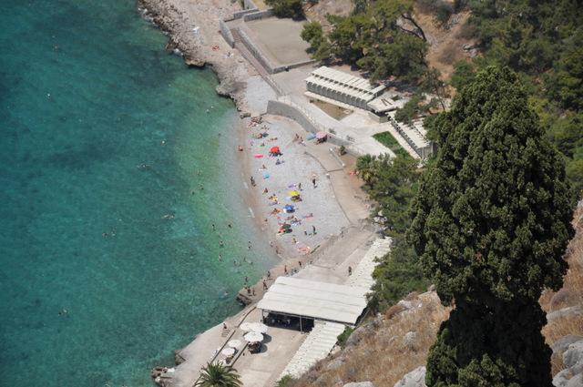nauplie plage d'Arvanitia