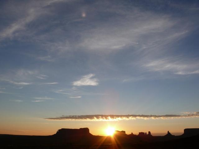 monument valley lever de soleil bons plans voyage d'alex etats unis
