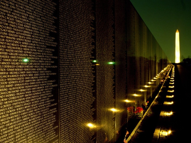Le Vietnam Memorial washington dc