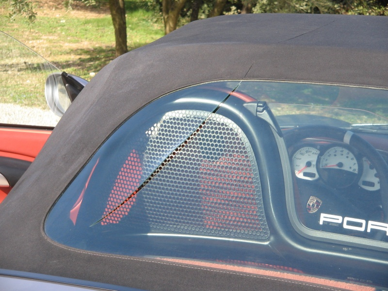 Toit ouvrant capote en vinyle souple Ford Fiesta