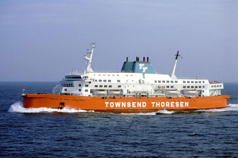 Le drame du herald of free enterprise zeebrugge 6 03 1987 - Where is zeebrugge ferry port ...