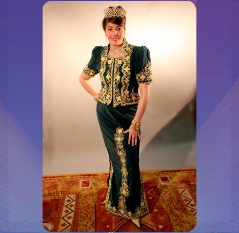 حبيت تتعرفوا اليوم على الكاراكو العاصمي وهو من الملابس التقليدية