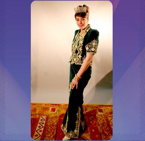 التي ترتديه العروس الجزائرية اتمنى ان يعجبكم ولا تنسو الردود