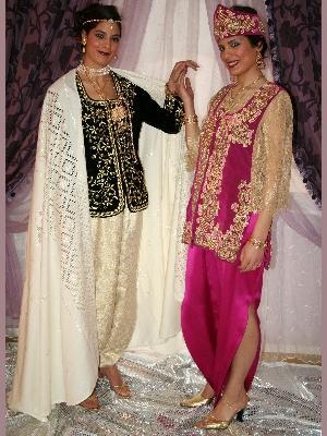 العرس الجزائري و أزياء العروس ليلة الحنة و