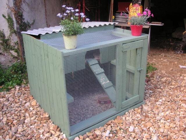 Poulailler pour 60 pour le bien tre de - Fabriquer une niche pour chien avec des palettes ...