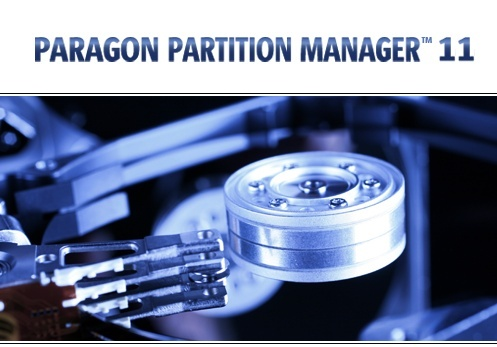 ������ ��� ������� �� ����� ������ Paragon Partition Manager 11