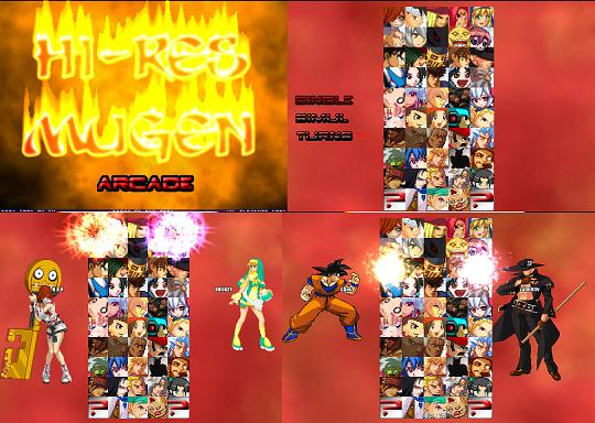 Hi-Res Mugen Game Version 2.0 Released!(Hot)