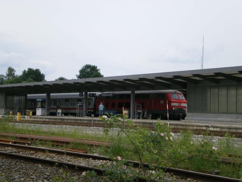 En Gare De Kempten Bavi Re