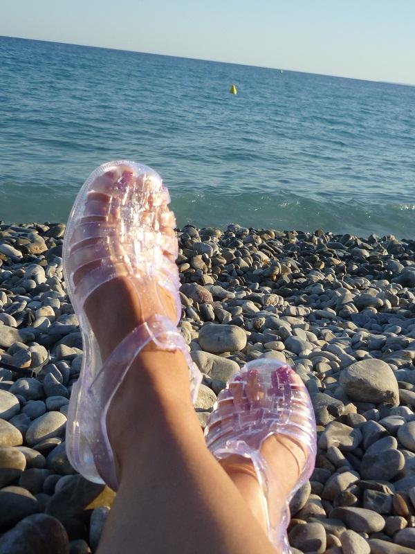 #Etés 2011 – Les méduses (la sandale pas l'animal !) : esthétique vs. pratique