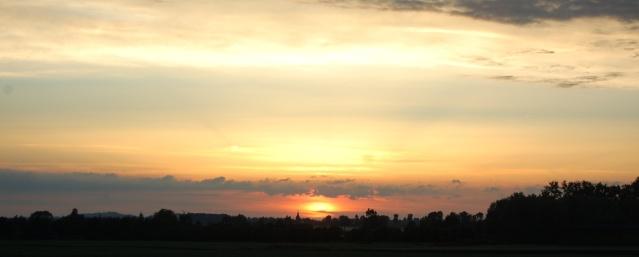 soleil couchant dans Mes coups de coeur... soleil10