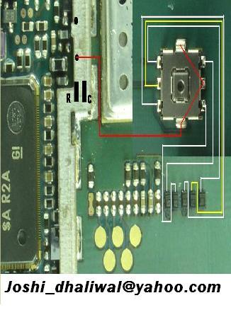 Sony Ericsson w200i joystick