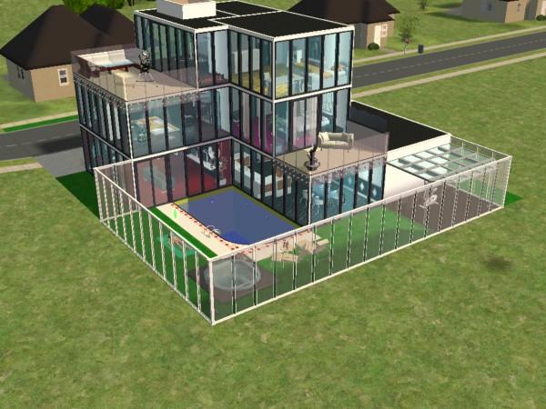 Capital sims ver tema concursos cs for Planos de casas sims