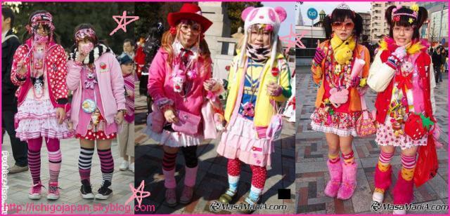 Les tenues sont toute dans le thème du Kawaii avec un esprit un peu enfantin. Cest aussi le nom dun magazine japonais consacré à la mode de rue japonaise.