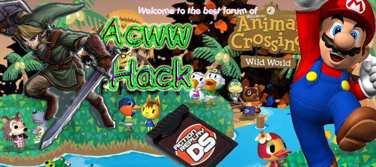 Hack AR Animal Crossing Wild World