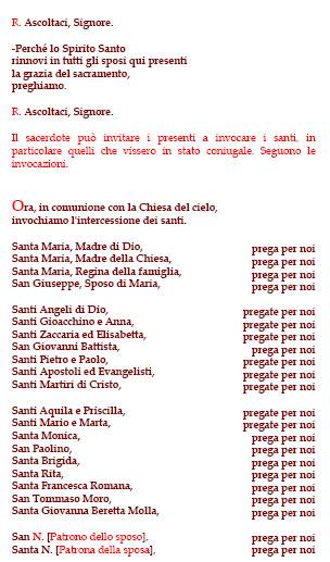 Anniversario Matrimonio Preghiera Dei Fedeli.Preghiera Dei Fedeli Matrimonio Matrimonio Blog