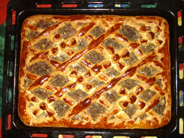 Пироги с мясомы фото