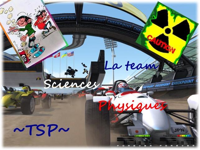 La Team Sciences Physiques vous souhaite bienvenue !