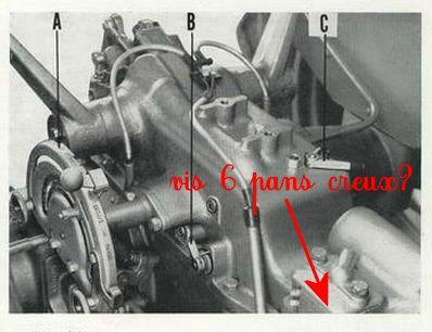 Pompe hydraulique massey ferguson 35