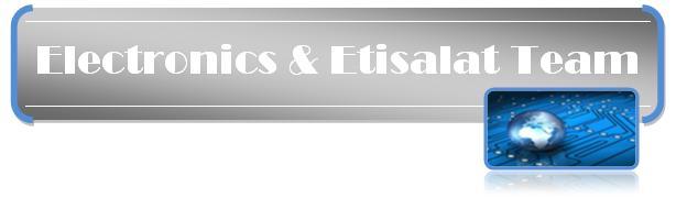 Electronics & Etisalat team