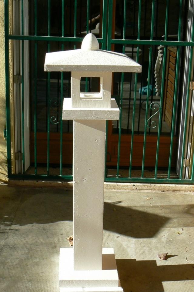 Le forum de passion bassin bassin de jardin baignade naturelle technique plantes aquatiques - Fabriquer une lanterne ...