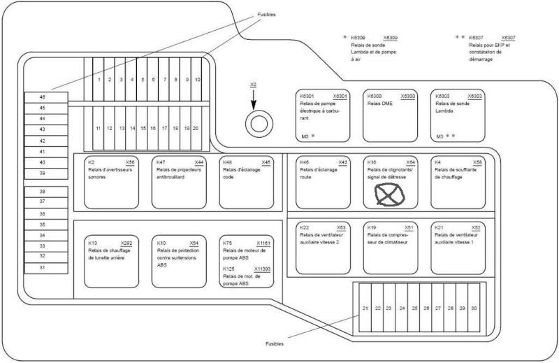 schema electrique clignotant ford transit