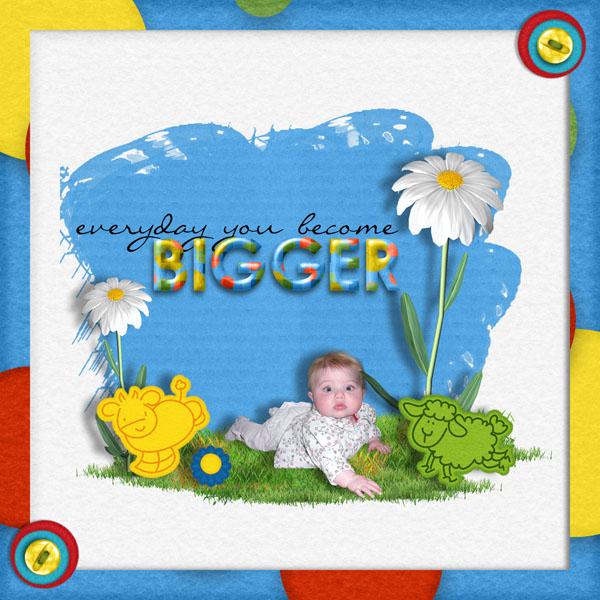 kit bébé grandit simplette page cocotounette