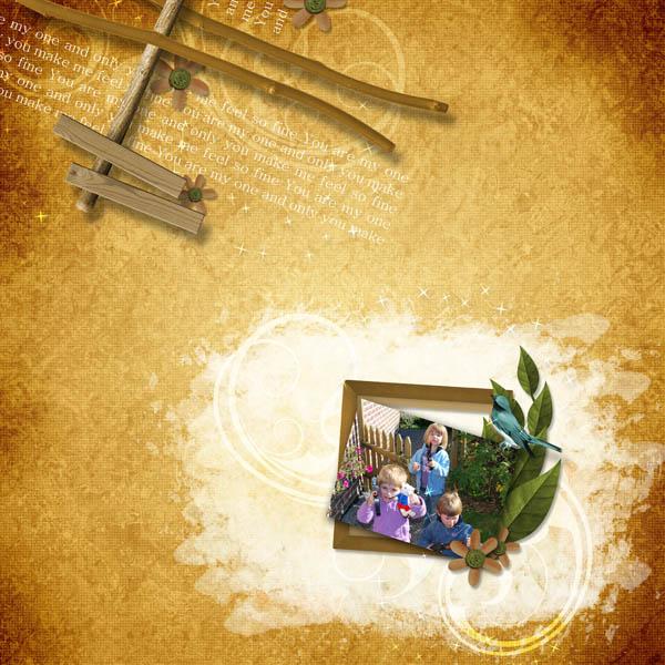kit le doux monde de lili simplette page cocotounette