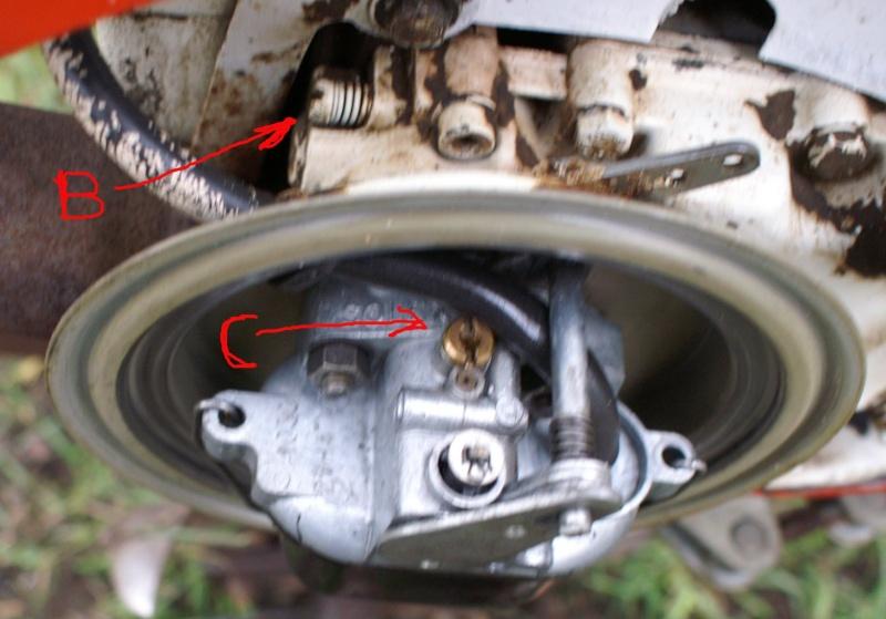 Notice et r glage bernard 127 bis - Robinet essence moteur bernard ...