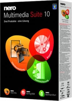 Nero Multimedia Suite 10 10.0.13200 (Serial Original )