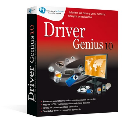 Driver Genius Professional Edition 10 PT com Serial