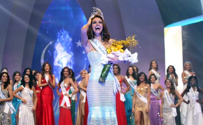 Bodine Koehler, who won the title of Miss Puerto Rico 2012