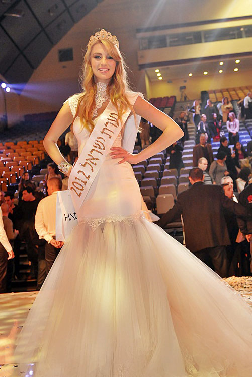 Lina Machola was Israel's Maiden of Beauty (1st runner-up)